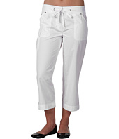 Jones New York - Petite Twill Tape Crop Cargo Pant