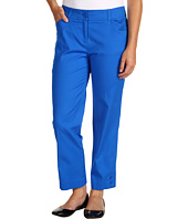 Jones New York - Petite Crop Slim Leg Pant w/ Button Cuff