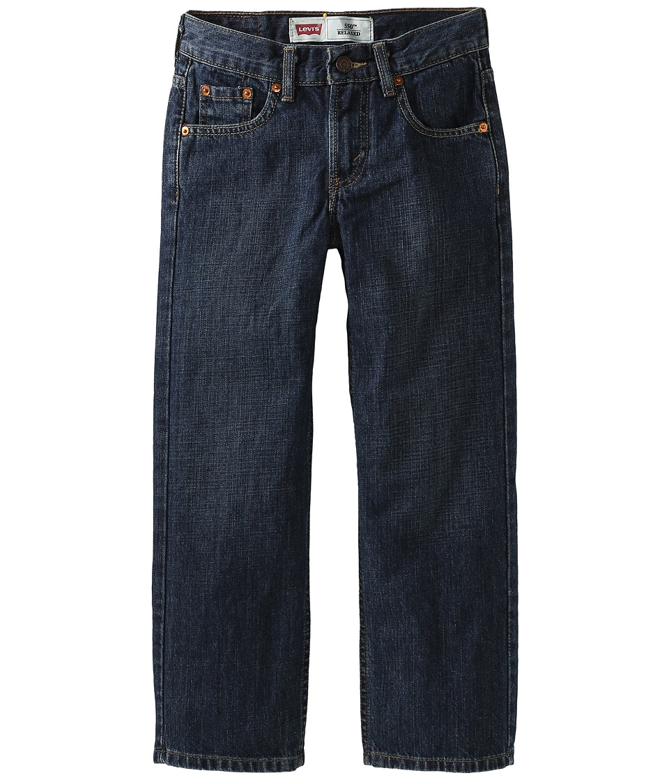 Levis(r) Kids - 550tm Relaxed Fit - Regular (Big Kids) (Dark Crosshatch) Boys Jeans