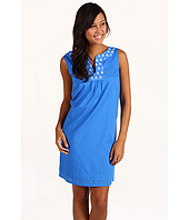 Jones New York - Solid Cotton Lawn Sleeveless Tunic Dress