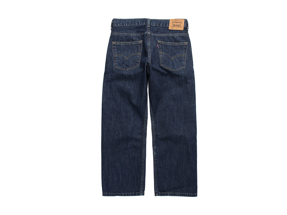 Levis(r) Kids - 550tm Relaxed Fit - Husky (Big Kids) (Dark Crosshatch) Boys Jeans