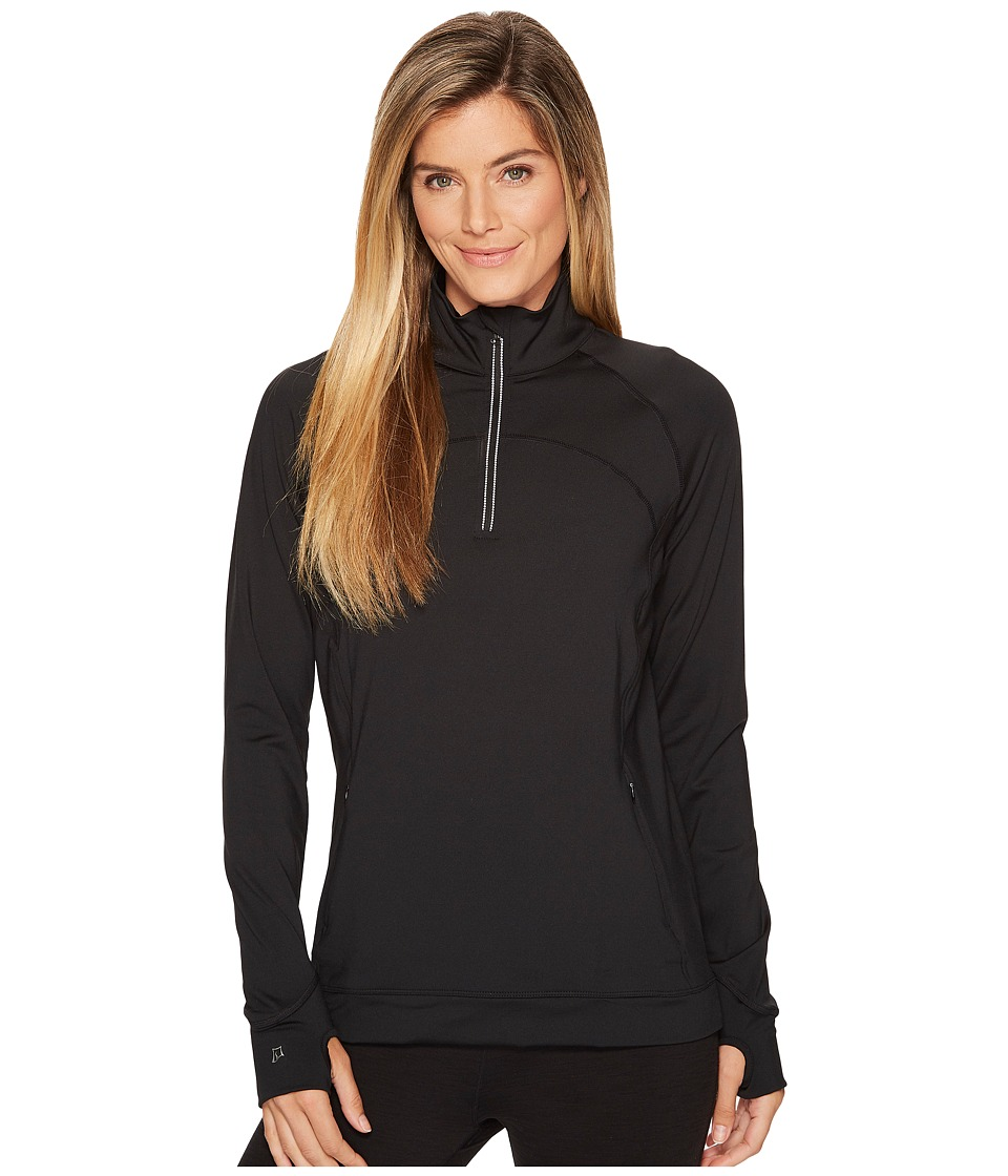 Skirt Sports - Tough Chick Top (Black) Womens Long Sleeve Pullover