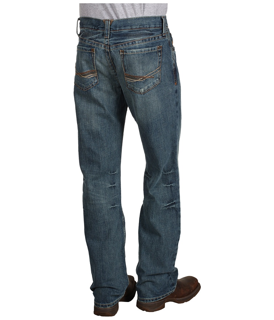 Ariat - M4 Low Rise Boot Cut in Scoundrel (Scoundrel) Mens Jeans