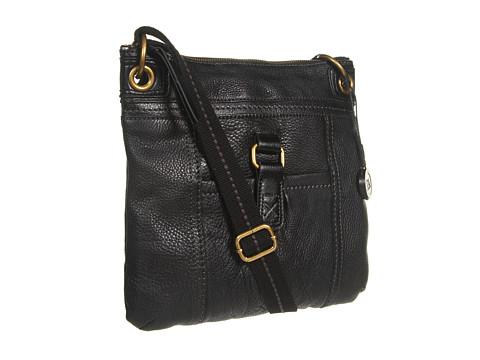The Sak Kendra Leather Crossbody - Black