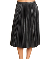 BCBGMAXAZRIA - Elsa Pleated Mid Length Skirt