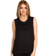 BCBGMAXAZRIA - Evan Blouse W/ Paillettes At Neckline