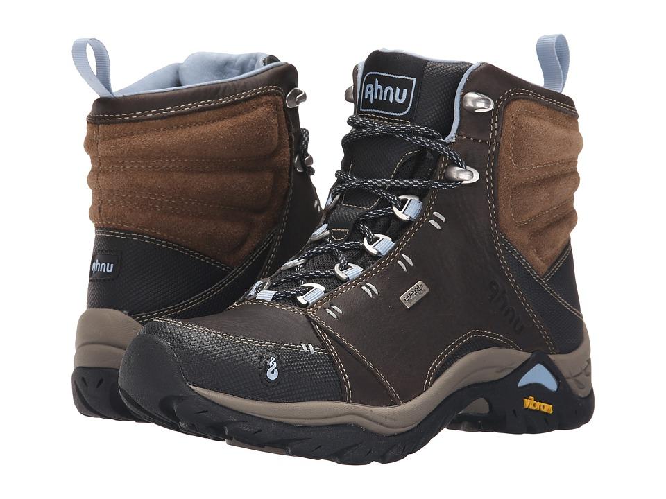 Ahnu Montara Boot Smokey Brown Womens Hiking Boots