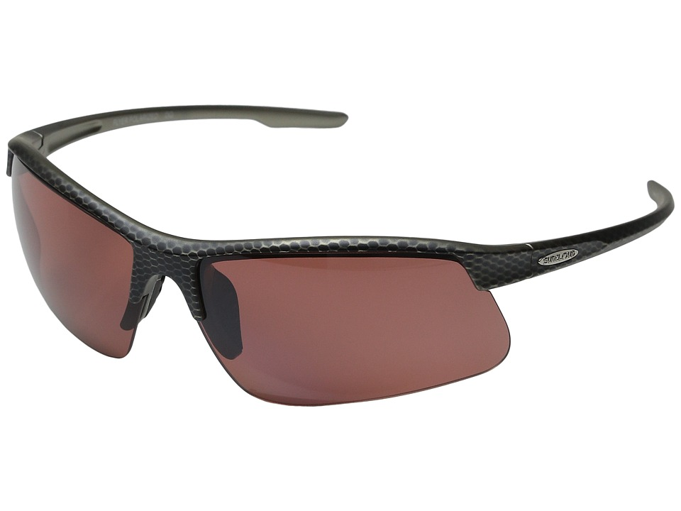 SunCloud Polarized Optics Flyer Carbon Sport Sunglasses
