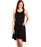 Three Dots - Tank Dress with Cascade Hem