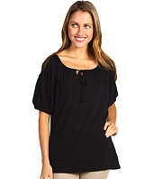 Three Dots - 1/2 Sleeve Peasant Top
