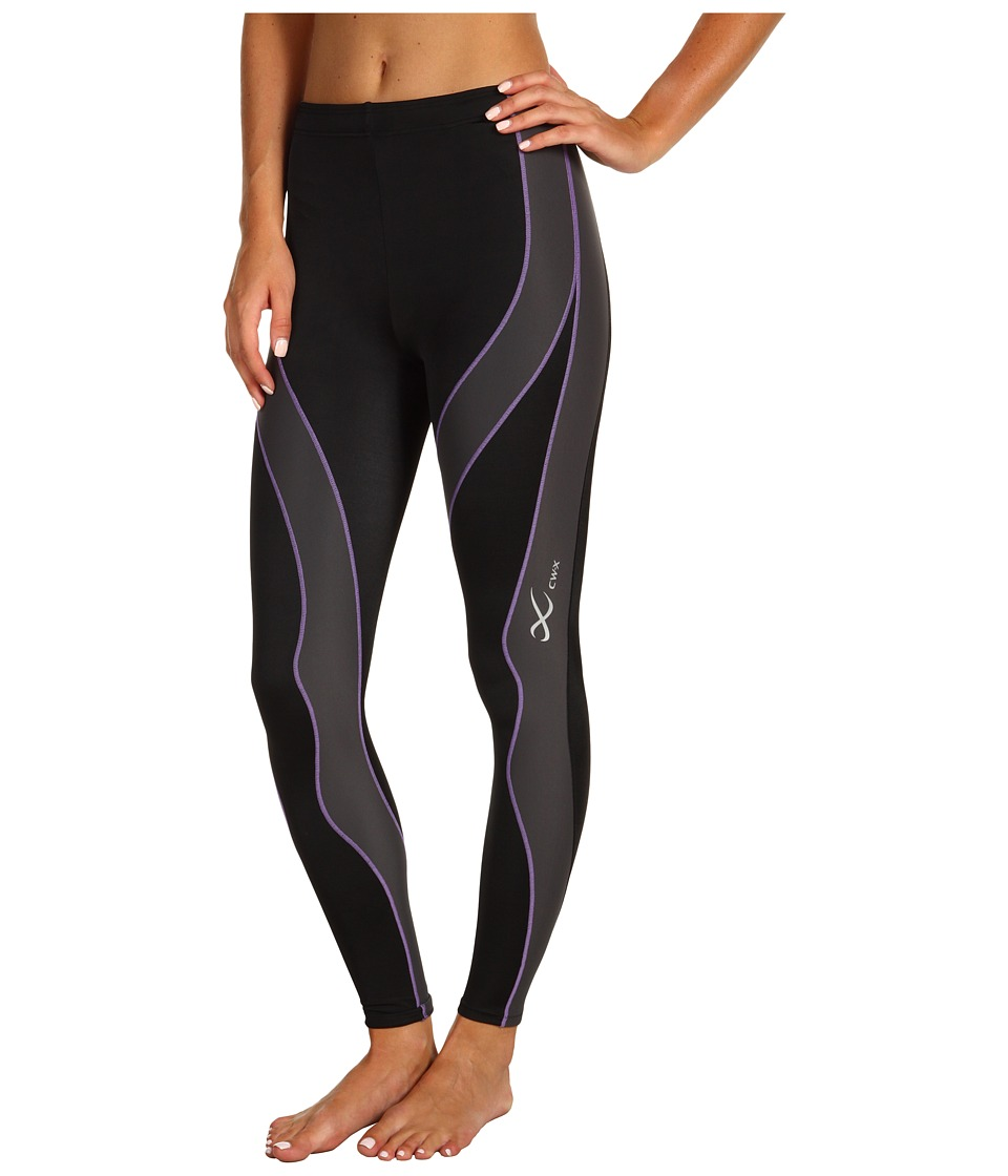 CW-X - PerformXtm Tight (Black/Grey/Lavender) Womens Workout