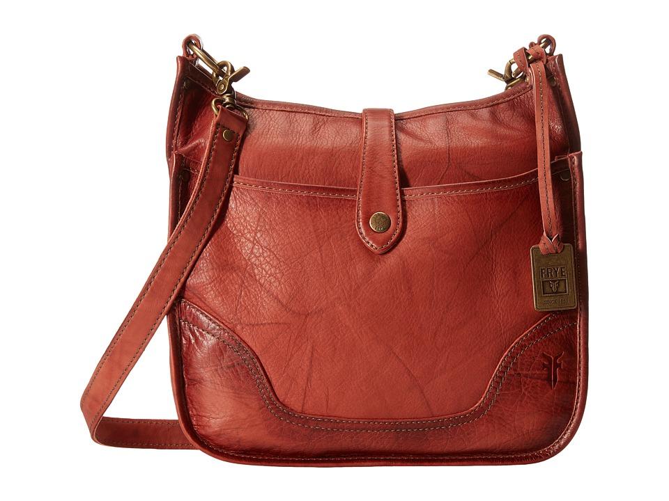 Frye - Campus Crossbody (Burnt Red) Cross Body Handbags