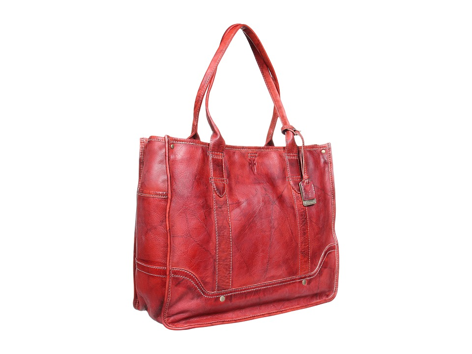 Frye - Campus Shopper (Burnt Red) Tote Handbags
