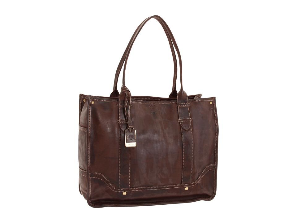 Frye - Campus Shopper (Walnut) Tote Handbags