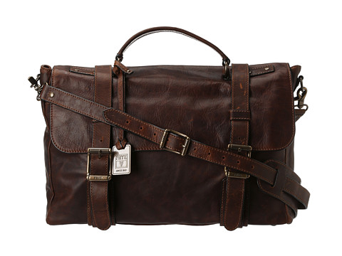 Frye Logan Flap Brief Case