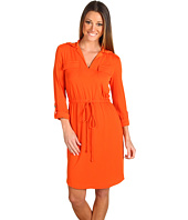 Muse - Shirt Dress with Drawstring Waist
