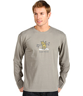 Life is good - Powder Hound Poles Crusher™ L/S Tee