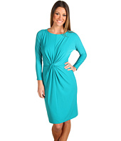 Donna Morgan - 3/4 Dolman Sleeve Front Knot Jersey Dress