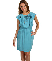 Donna Morgan - Sandwashed Rayon Elastic Waist Dress