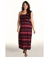 Christin Michaels - Plus Size Avah Strapless Maxi Dress