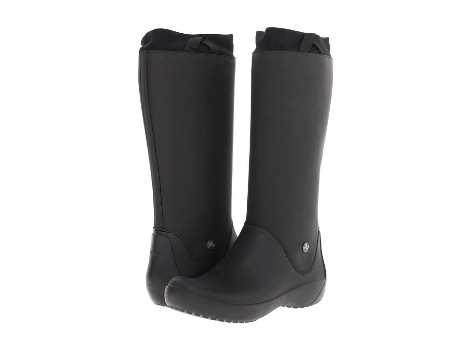 Crocs - Rainfloe Boot (Black/Black) Women