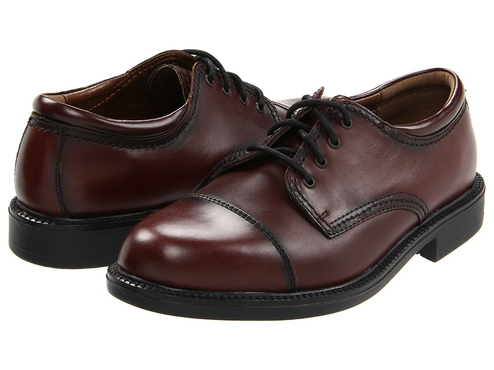 Dockers - Gordon Cap Toe Oxford (Antiqued Cordovan) Mens Lace Up Cap Toe Shoes