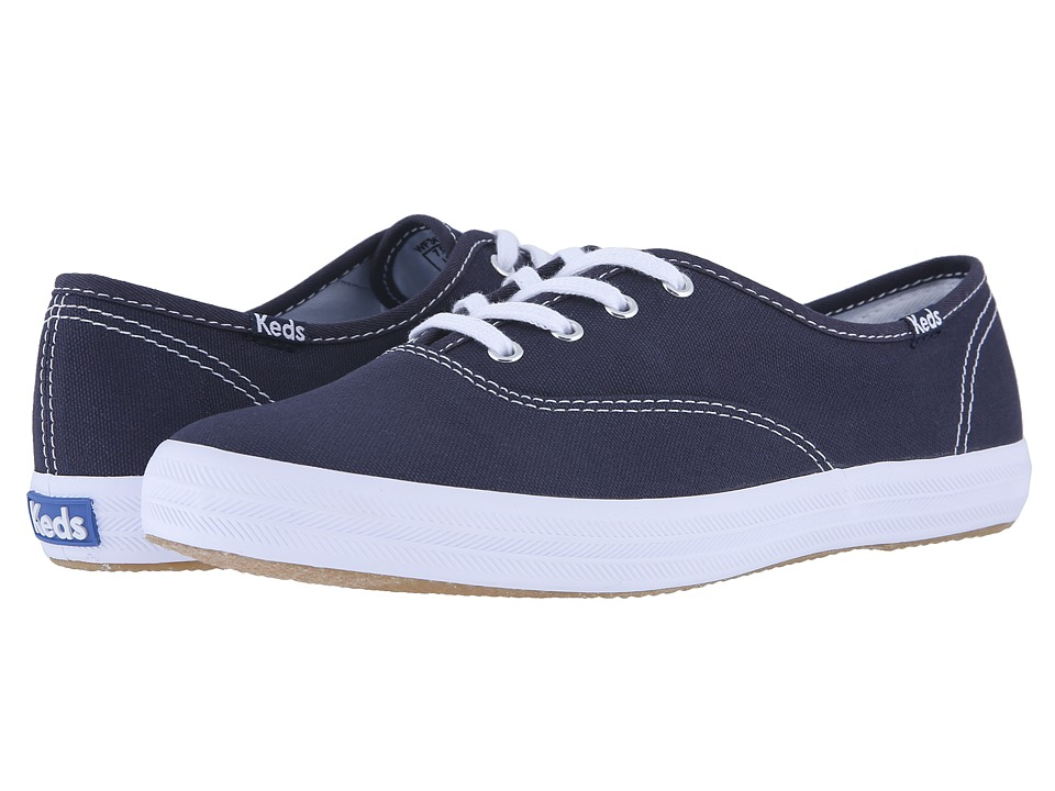 Keds - Champion-Canvas CVO (Navy Canvas) Women