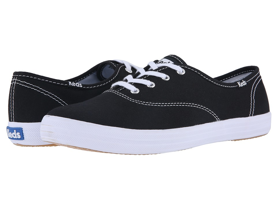 Keds - Champion-Canvas CVO (Black Canvas) Women