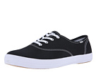 Keds - Champion-Canvas CVO (Black Canvas) - Footwear