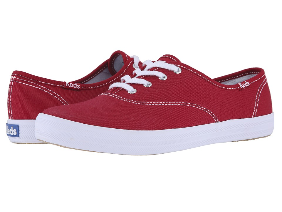 Keds - Champion-Canvas CVO (Ribbon Red) Women
