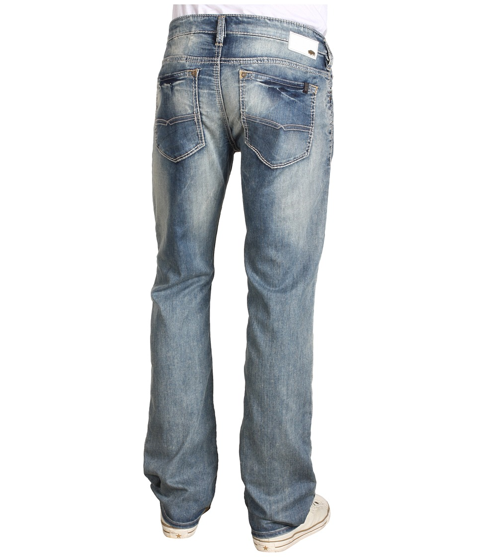 Buffalo David Bitton Six Slim Straight in Dust Dust Mens Jeans