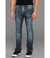 Buffalo David Bitton - Evan Super Slim Leg Basic Jean in Authentic Wash and Worn