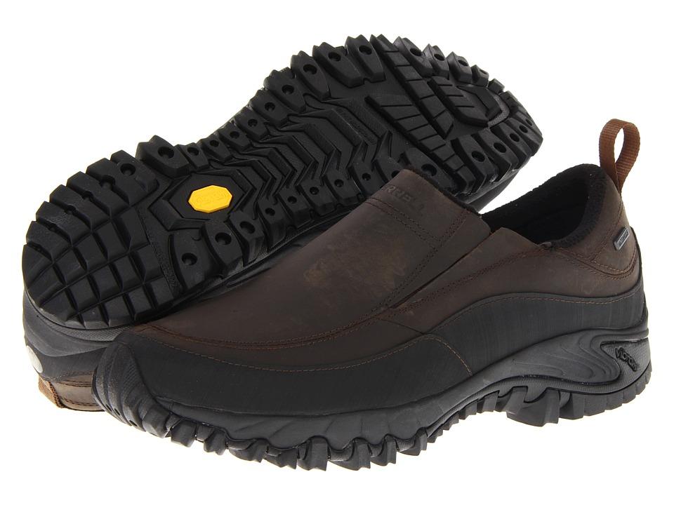 Merrell - Shiver Moc 2 Waterproof (Dark Earth) Mens  Shoes