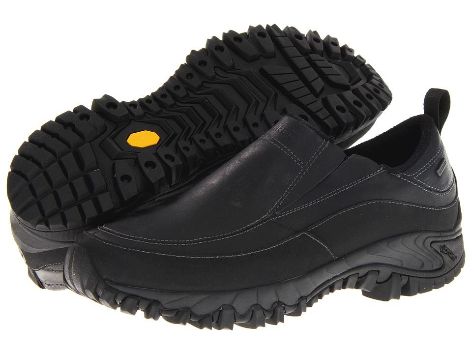 Merrell Shiver Moc 2 Waterproof (Black) Men's  Shoes