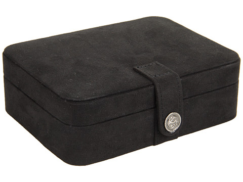Mele Giana Plush Fabric Jewelry Box