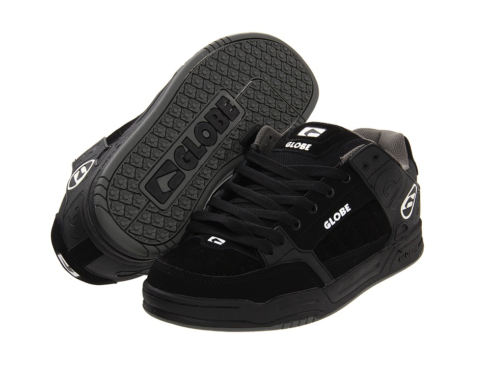 Globe - Tilt (Black/Black TPR) Mens Skate Shoes