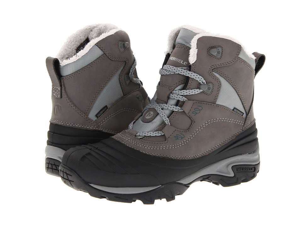 Merrell - Snowbound Mid Waterproof (Charcoal) Women