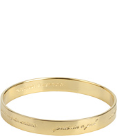 Kate Spade New York - Bridesmaids Idiom Bangle