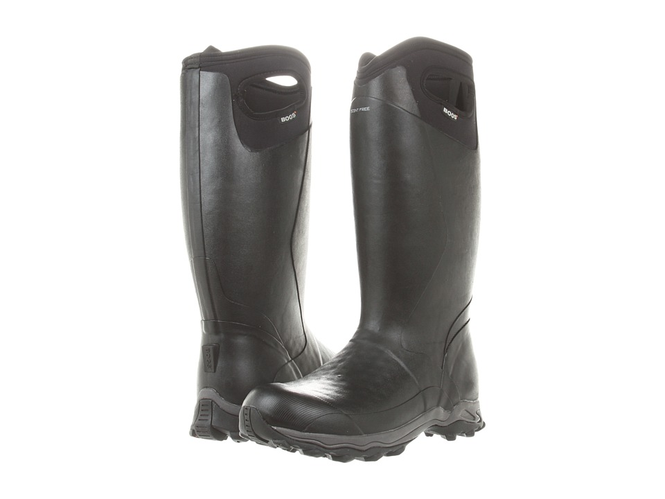 Bogs Buckman Black Mens Pull on Boots