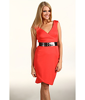 Maggy London - Sleeveless V-Neck Scuba Dress