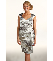 Maggy London - Cap Sleeve Satin Dress
