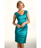 Maggy London - Shiny And Matte Satin Dress