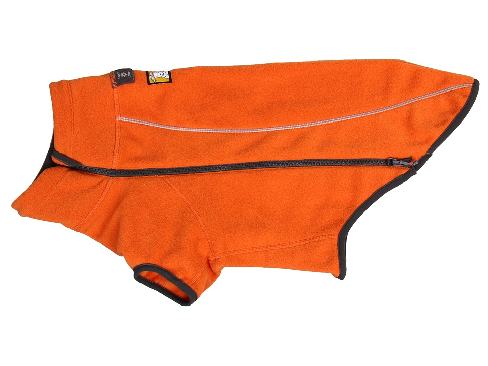 Ruffwear Climate Changer Fleece Burnt Orange Dog Clothing