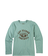Life is good Kids - Boys' Coach Football L/S Creamy™ Tee (Toddler/Little Kids/Big Kids)