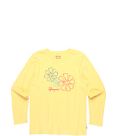 Life is good Kids - Girls' Trio Daisy L/S Creamy™ Tee (Toddler/Little Kids/Big Kids)
