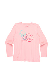 Life is good Kids - Girls' Trio Peace L/S Creamy™ Tee (Toddler/Little Kids/Big Kids)