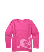 Life is good Kids - Girls' Stamp Heart Flower Creamy™ Tee (Toddler/Little Kids/Big Kids)
