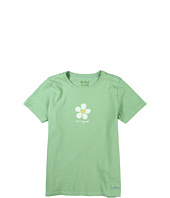Life is good Kids - Girls' Bold Heart Flower Crusher™ Tee (Little Kids/Big Kids)