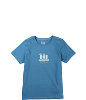 Life is good Kids - Girls' Three Penguins Crusher™ Tee (Little Kids/Big Kids)