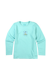 Life is good Kids - Girls' Jackie Snow Day L/S Crusher™ Tee (Little Kids/Big Kids)
